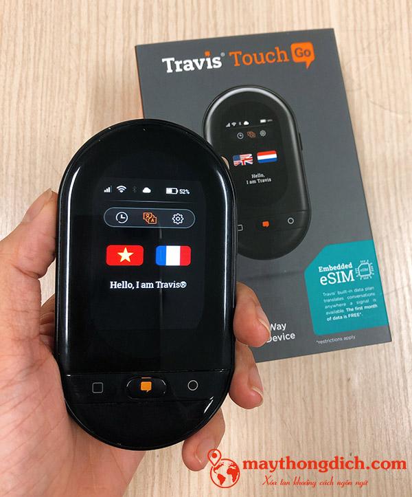 Travis Touch Go 2020 trong lòng bàn tay phụ nữ