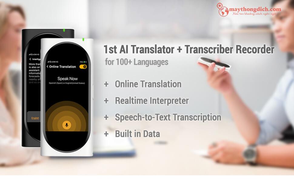 Giới thiệu máy phiên dịch Langogo mới nhất