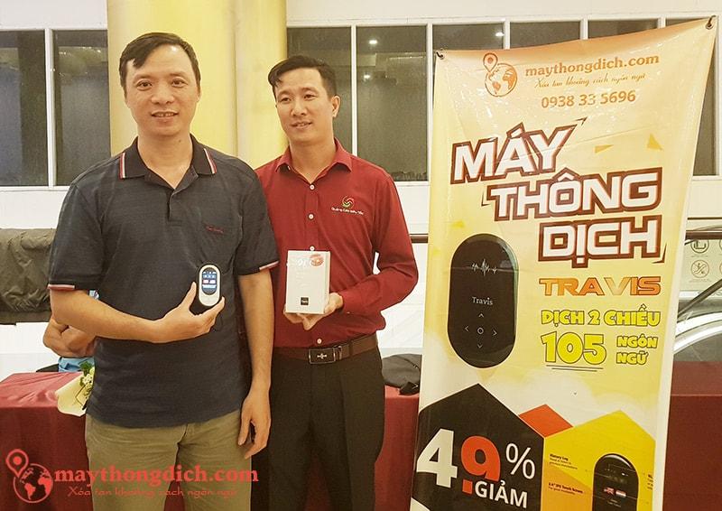 Anh Lam Nguyen CEO ANKER Việt Nam Đã Dùng Máy Phiên Dịch Travis Touch Plus