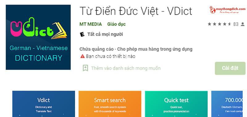 từ điển dịch thuật vdict