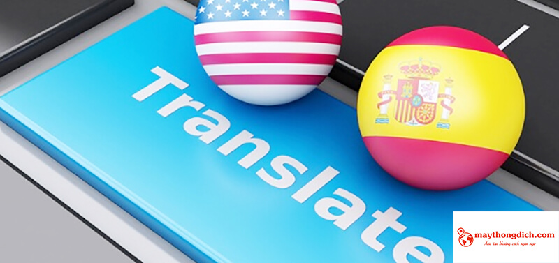 ứng dụng phiên dịch spanish translate
