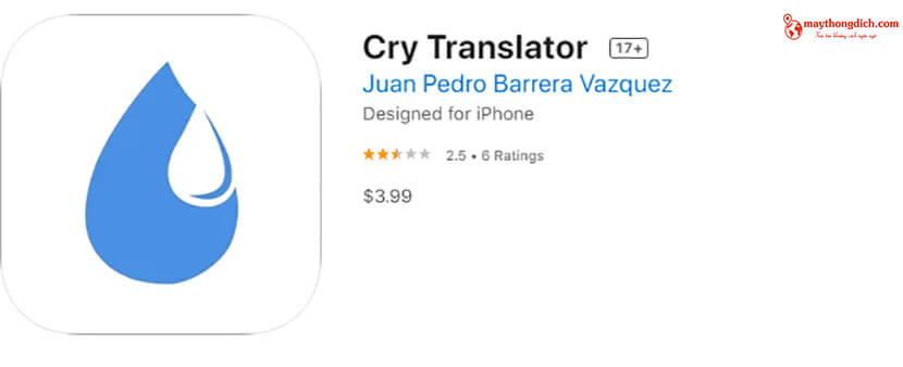 giới thiệu app phiên dịch tiếng em bé