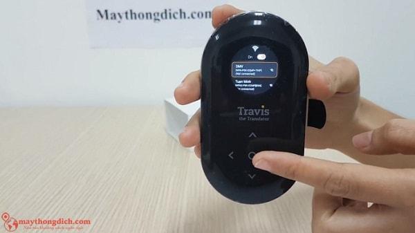 Kết nối wifi cho thiết bị travis