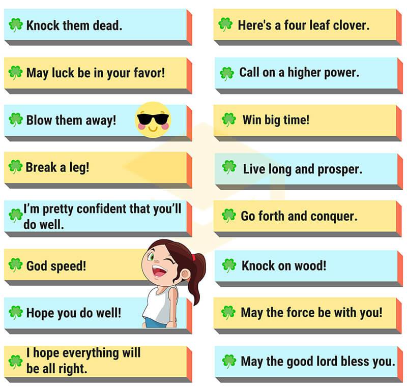 Tồng hợp những câu chúc may mắn & thành công bằng tiếng Anh