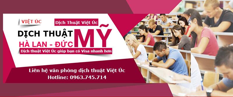 Dịch thuật tại Việt Úc