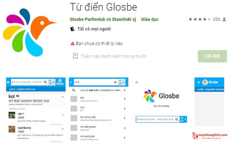 từ điển dịch glosbe