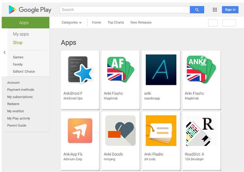 Anki là ứng dụng Flashcard học tiếng Anh phổ biến nhất
