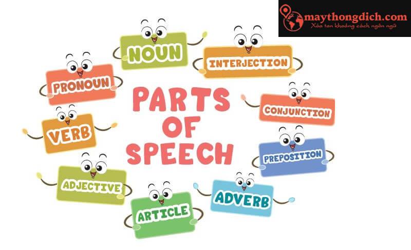 Từ loại tiếng Anh là gì? Cách nhận biết các từ loại trong tiếng Anh