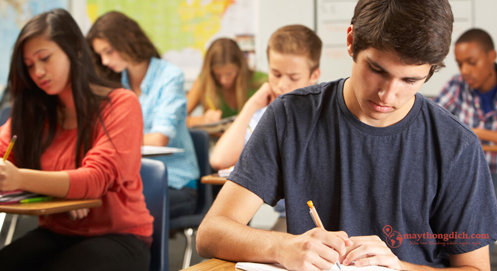 Phương pháp tự học tiếng Anh tại nhà bằng bài test