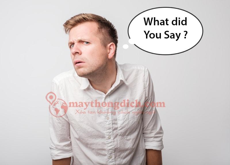 Tập Nghe khi học tiếng anh giao tiếp với người nước ngoài