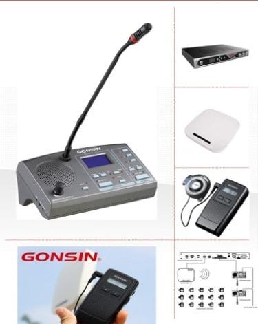 Máy thông dịch Gonsin