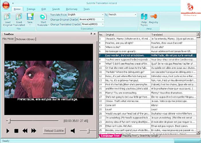 top 8 phần mềm dịch phim trực tiếp