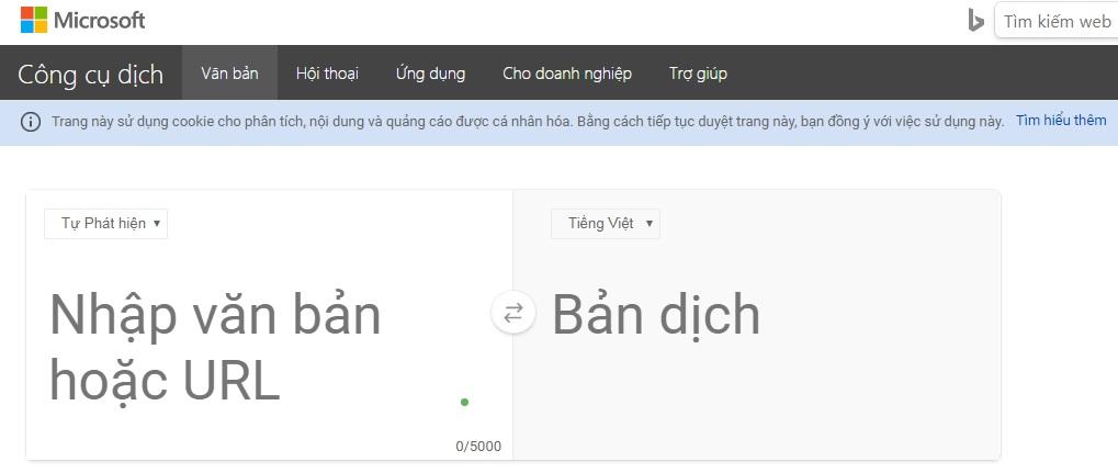 phần mềm dịch tiếng anh chuẩn