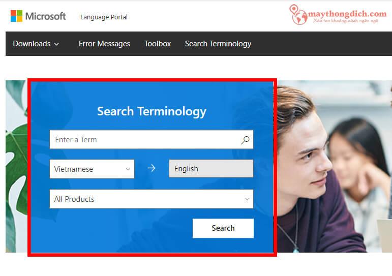 Phần mềm dịch tiếng Anh Microsoft Translator