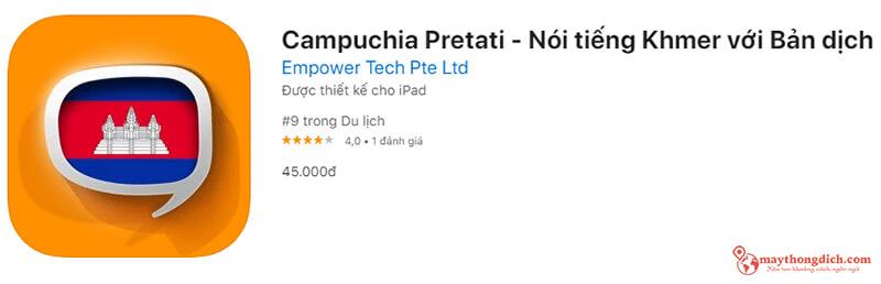 app dịch tiếng khmer bằng giọng nói