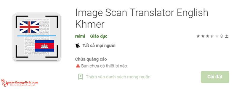 phần mềm dịch tiếng khmer bằng hình ảnh