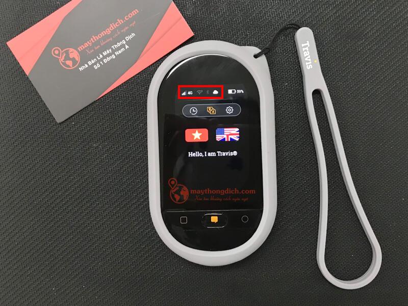 Sau khi kết nối sim 4G thành công, bạn có thể sử dụng máy để dịch