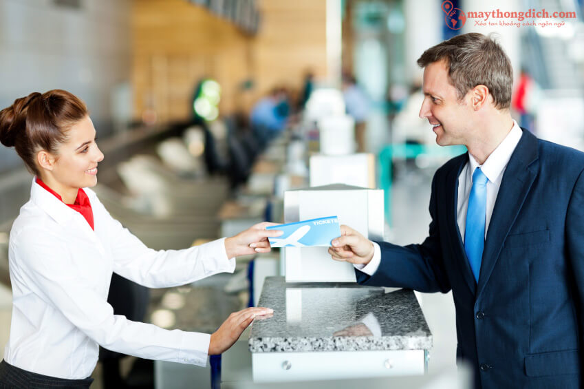 Giao tiếp tiếng Anh để mua vé máy bay khi du lịch