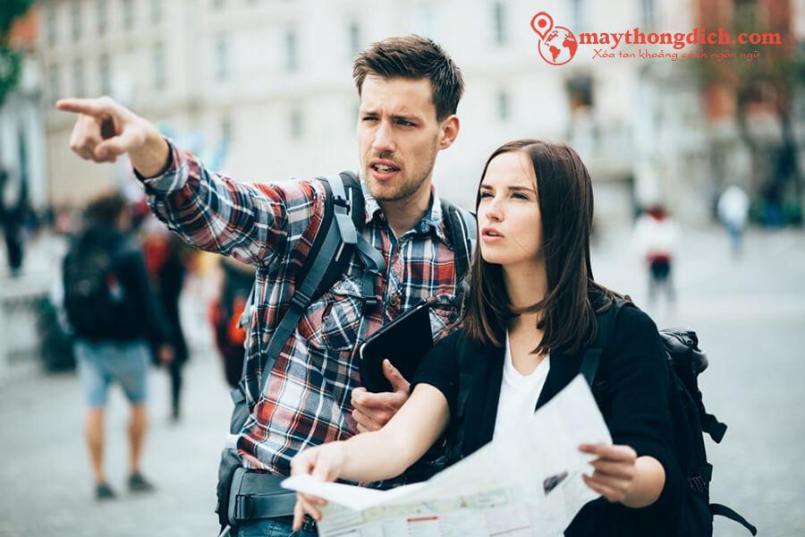 Những câu tiếng Anh để hỏi đường khi đi du lịch