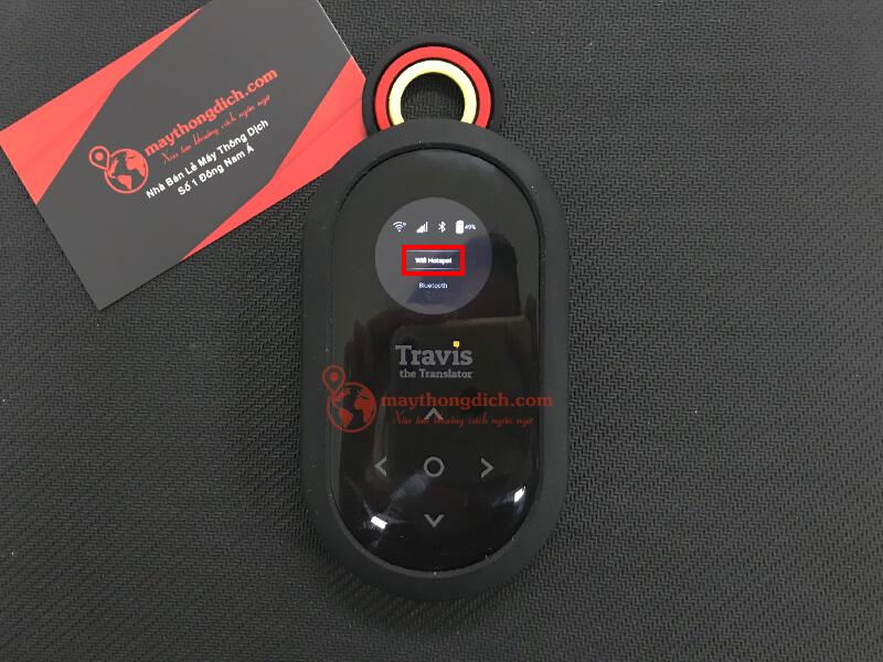 Chọn wifi hotspot để sử dụng travis one