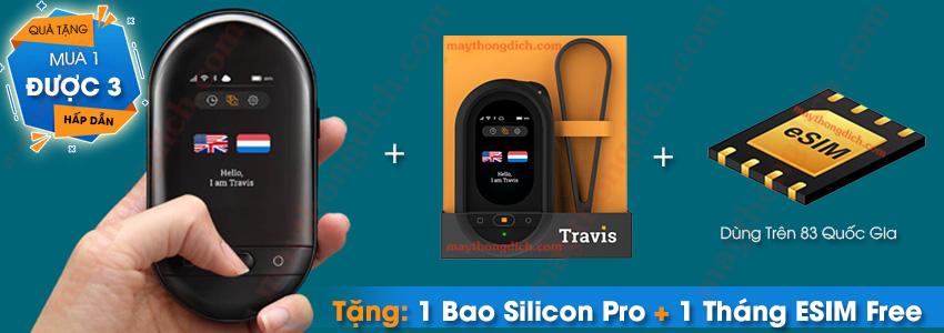 Mua Máy Phiên Dịch Travis Touch Tặng Bao Da Silicon và ESIM