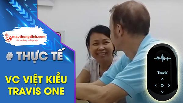 Cặp vợ chồng Việt Kiều: Đức - Việt Mua Dịch Ngôn Ngữ TRAVIS ONE
