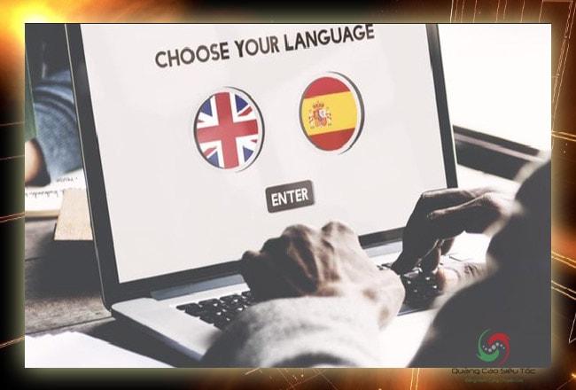 Website đa ngôn ngữ tác động trực tiếp đến sự phát triển công ty