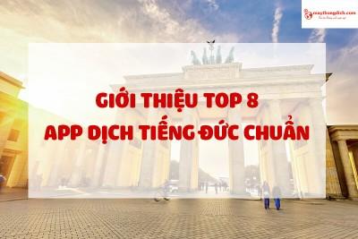 Top 8 App Dịch Tiếng Đức Chuẩn Miễn Phí 2021