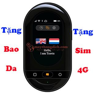 Máy Phiên Dịch Travis Touch - Hỗ Trợ Dịch 105 Ngôn Ngữ